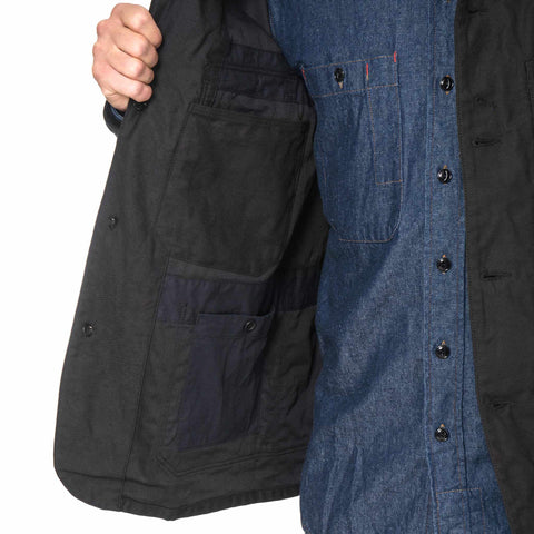 Engineered Garments Coverall Jacket - Cotton Reversed Sateen