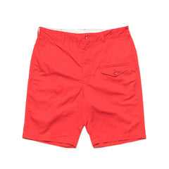 Engineered Garments Ghurka Shorts/ 5oz Twill Red