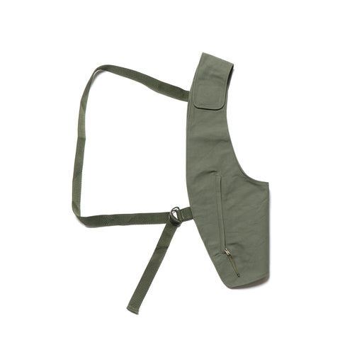 engineered garments Holster Vest Cotton Double Cloth Olive