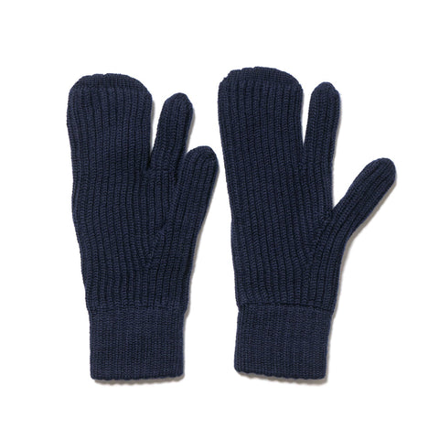 Engineered Garments Knit Mitten Navy