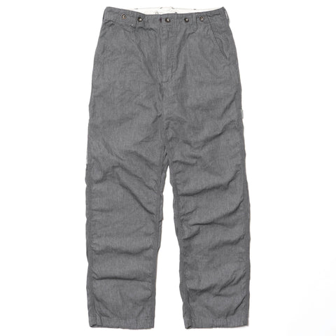 Engineered Garments Logger Pant/ 7.5oz Twill Dark Heather Gray