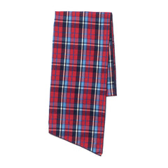 Engineered Garments Long Scarf Brushed Plaid Red/Blue