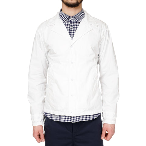 Engineered Garments M-41 Jacket - Washer Twill White