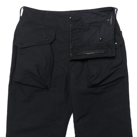 engineered garments Norwegian Pant Cotton Double Cloth Black