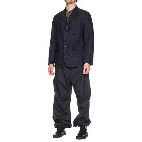 engineered garments Over Pant/ High Count Twill Dark Navy