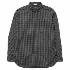 Engineered Garments Rounded Collar Shirt - Graph Check