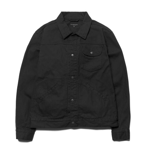 Engineered Garments Type 111 Jean Jacket 12oz Duck Canvas Black