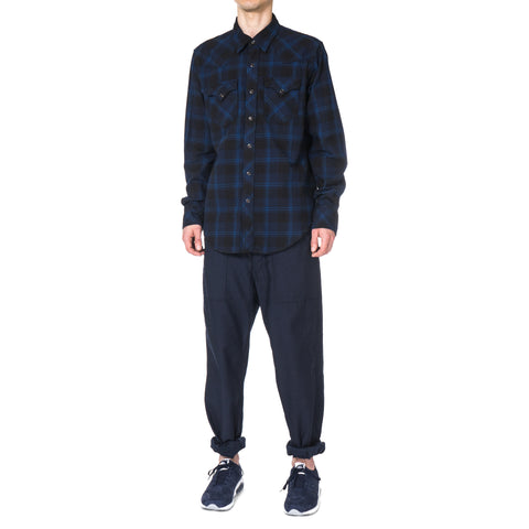 Engineered Garments Western Shirt - Plaid Flannel