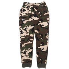 F.C.R.B Camouflage Emblem Sweat Pants