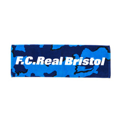F.C.R.B Camouflage Sports Towel Navy