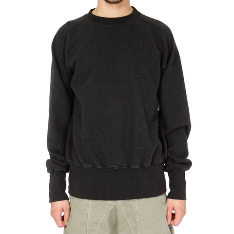 Kapital Fleecy Knit Raglan Cuffed Sleeve Sweat Shirt