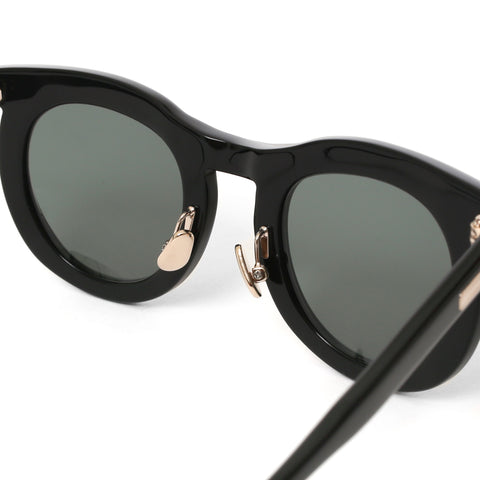 "Native Sons ""Fuller"" Sunglasses Black / White Gold, Accessories"