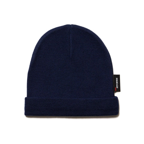 AFFIX Knitted Beanie Navy, Headwear