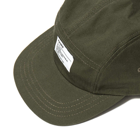haven Dyed Twill 5-Panel Cap Olive