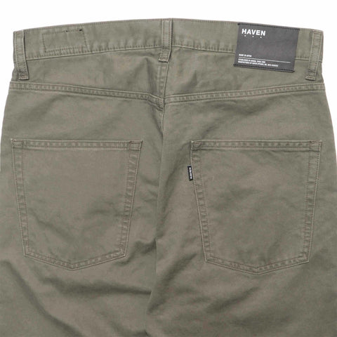 HAVEN Dobby Cloth 5-Pocket Pant Olive