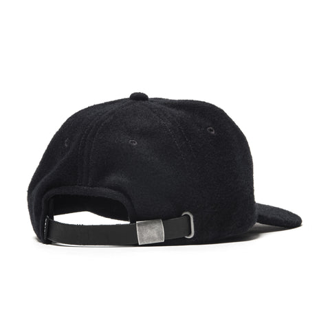 HAVEN Angora Wool 6-Panel Cap Dark Navy