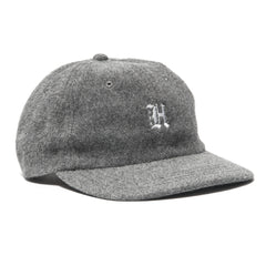 HAVEN Angora Wool 6-Panel Cap Gray