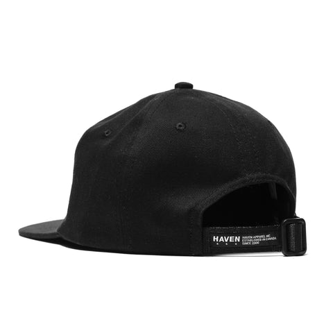 HAVEN 6-Panel Cap Black, Headwear