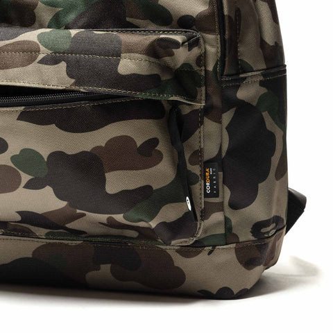A BATHING APE 1st Camo Day Pack Green, Bags