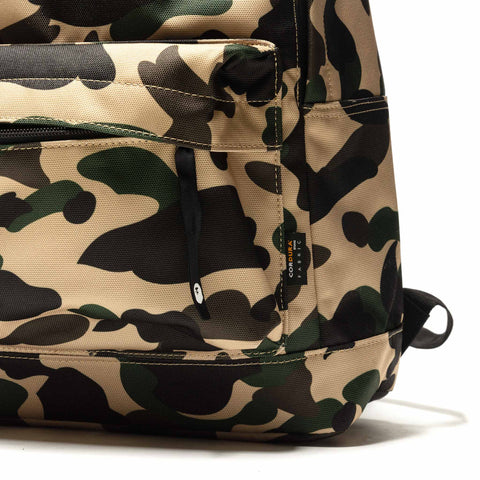 A BATHING APE 1st Camo Day Pack Yellow, Bags