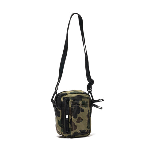 A BATHING APE 1st Camo Military Shoulder Bag Green, Bags