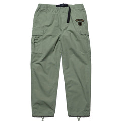 A BATHING APE 6 Pocket Pant Olive Drab, Bottoms