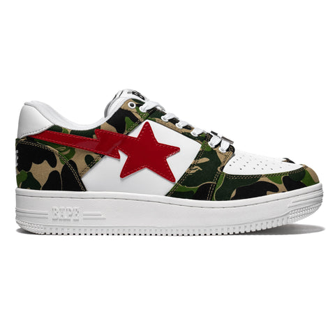 13f11caa A Bathing Ape ABC Bape Sta Low Green, Footwear