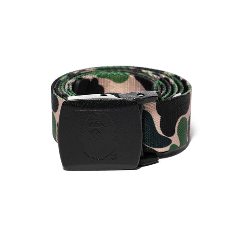 A Bathing Ape ABC Long Gi Belt Green, Belts