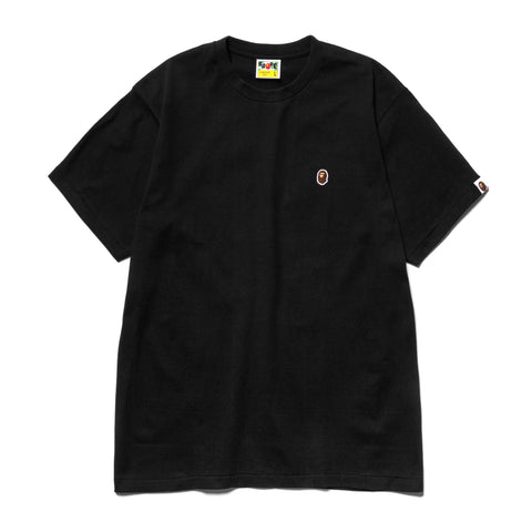 A Bathing Ape Ape Head One Point Tee Black, T-Shirts