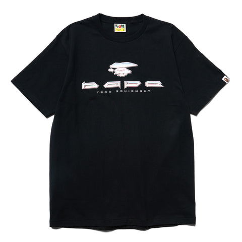 A BATHING APE BAPE Tech Tee Black, T-Shirts