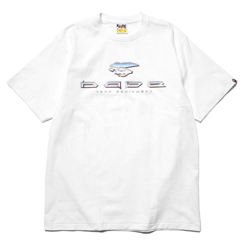 47922e825 A BATHING APE BAPE Tech Tee White, ...
