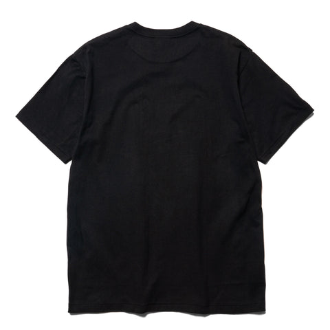 A BATHING APE Bicolor By Bathing Tee Black, T-Shirts