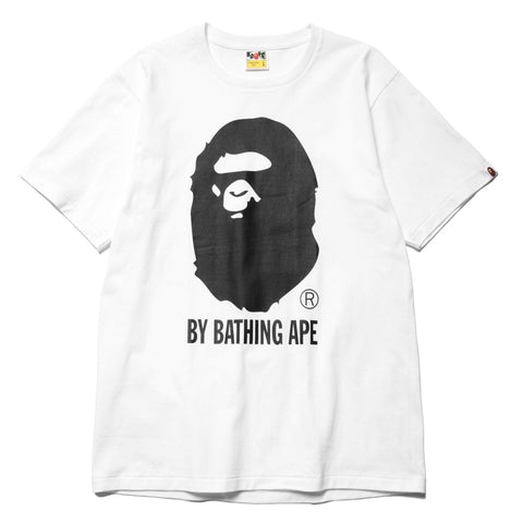 A BATHING APE Bicolor By Bathing Tee White, T-Shirts
