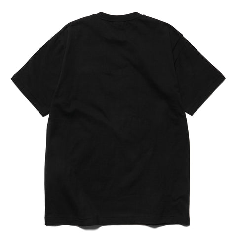 A BATHING APE Bicolor College Tee Black, T-Shirts