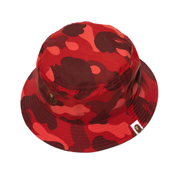c9c61f5a Color Camo Ape Head One Point Bucket Hat Red – HAVEN