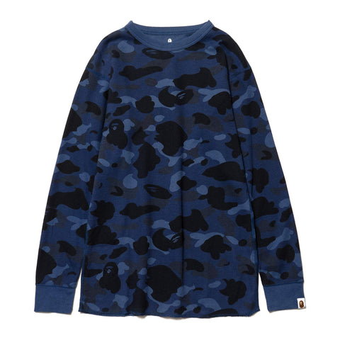 A BATHING APE Color Camo Thermal LT Navy, T-Shirts