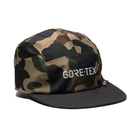 021597323949 A BATHING APE Gore-Tex 1st Camo Jet Cap Green