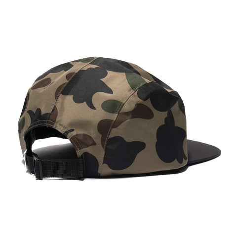 A BATHING APE Gore-Tex 1st Camo Jet Cap Green, Headwear