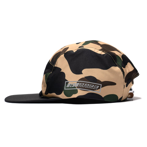 A BATHING APE Gore-Tex 1st Camo Jet Cap Yellow, Headwear