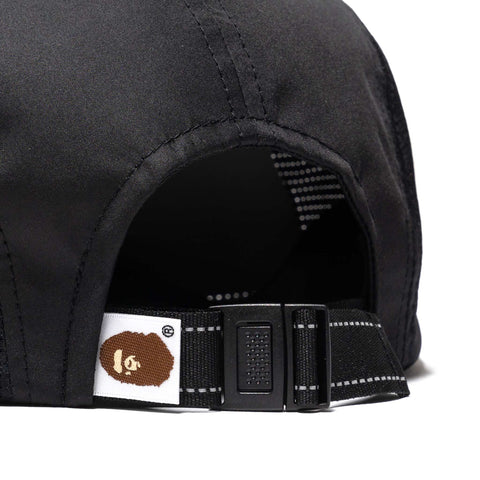 A BATHING APE Jet Cap Black, Headwear