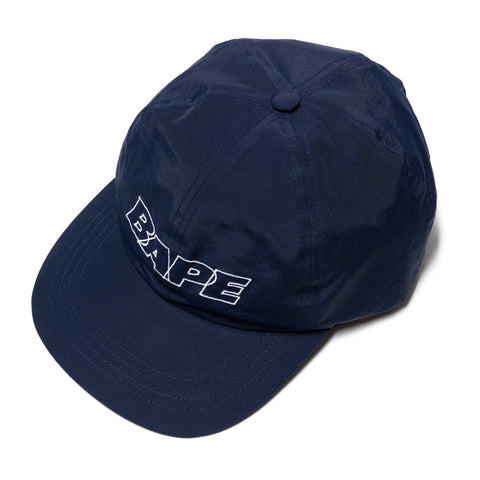 A BATHING APE Panel Cap Navy, Headwear