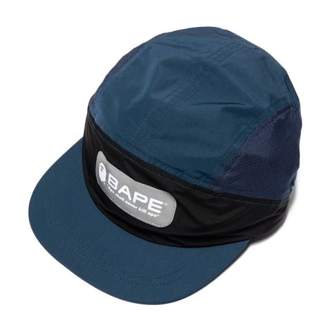 A BATHING APE Running Cap Navy, Headwear