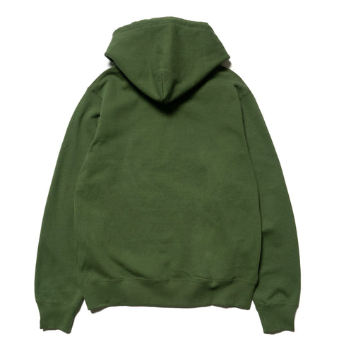 A BATHING APE Silicon One Point Pullover Hoodie Olive Drab, Sweaters