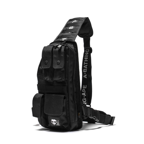 A BATHING APE Cordura Tactical Vest Bag Black, Vests