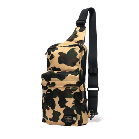 3407d92580ae9 A Bathing Ape x Porter 1st Camo One Shoulder Bag Yellow, ...