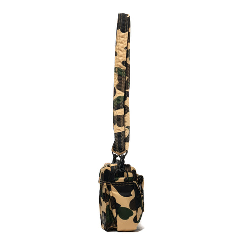 A Bathing Ape x Porter 1st Camo Shoulder Bag (S) Yellow, Bags