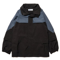 AFFIX Border Coat Black/Petrol Green, Outerwear