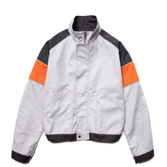 AFFIX Tri-Color Work Jacket Gray/Dark Orange, Outerwear