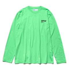 AFFIX Basic Long Sleeve T-Shirt Green, T-Shirts
