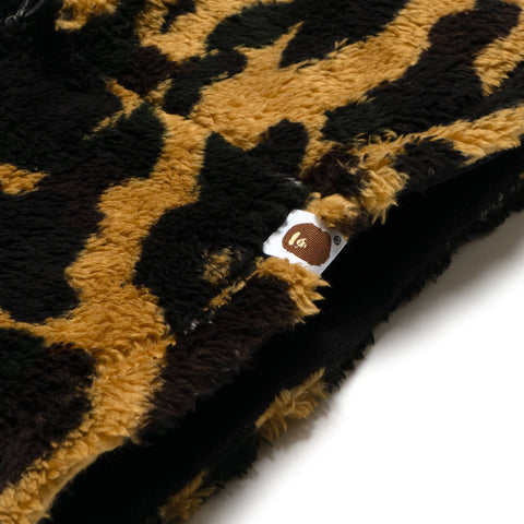A BATHING APE 1st Camo Boa Neck Warmer Yellow, Accessories